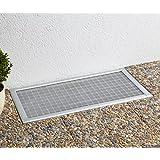 grille moustiquaire anti feuilles pour soupirail fen tre de cave 60x115cm transparent. Black Bedroom Furniture Sets. Home Design Ideas
