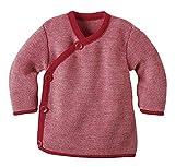 Disana - Melange-Jacke aus Merino-Schurwollstrick