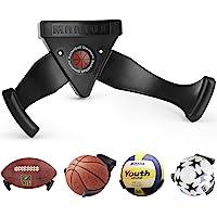 Healthman Bestbuy Ballhalter Wandhalterung für Basketballbälle, platzsparendes Display für Fußball, Fußball, Baseball…