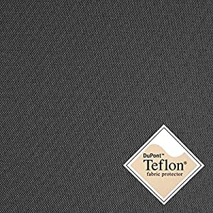 Breaker Teflon - Couleur: anthracite (anthrazit) - coupe-vent, hydrofuge, tissu enduit - Polyester - Canvas - Vendu au Mètre