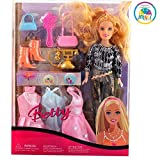 #5: Smiles Creation Beautiful Fashion Doll Set with Outfit Accessories Toy