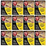 SBM Protect Home GARDOPIA Sparpaket: 12 x 400g Rodicum Ratten Getreideköder + Gardopia Zeckenzange mit Lupe