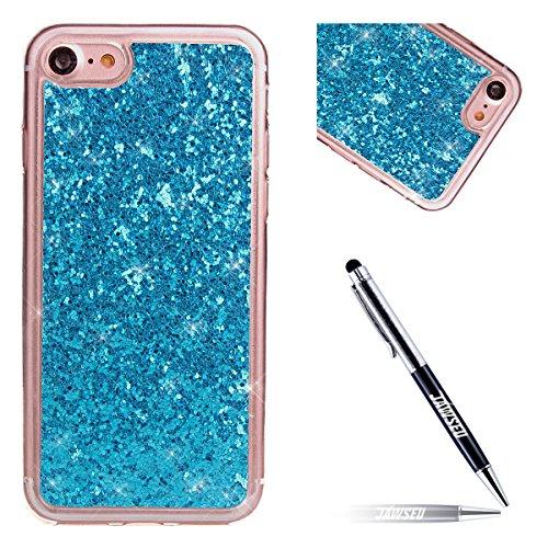 iPhone-7-Tpu-HandyhlleiPhone-7-Silikon-hlleJAWSEU-Kreative-Gradient-Color-360Schutz-Durchsichtig-Weich-Gel-Ultradnn-Case-Etui-Transparent-Clear-Slim-Fit-Flexibel-Rubber-Fall-Tasche-Schutzhlle-fr-iPhon