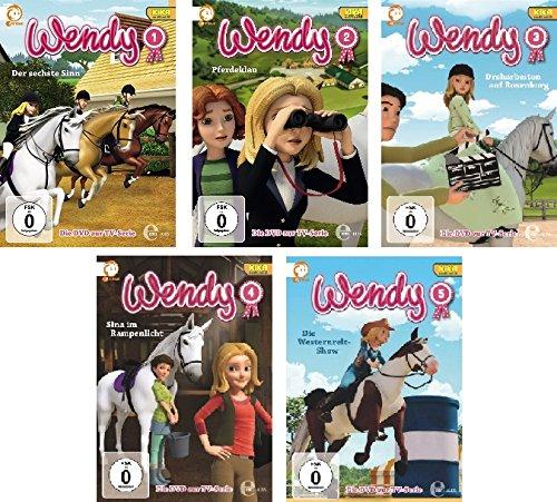 Vols. 1-5 (5 DVDs)