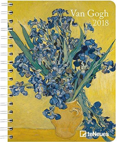 Preisvergleich Produktbild Van Gogh 2018 - Buchkalender, Pocket Diary, Kunstkalender 2018  -  16,5 x 21,6 cm