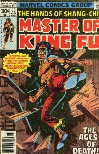 THE HANDS OF SHANG-CHI, MASTER OF KUNG FU, N° 55