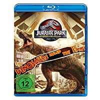 Jurassic Park 1-3 + Jurassic World 1 [Blu-ray]