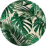 Cuadros Lifestyle 2D-Wandobjekt aus Holz   Blätter   Pflanzen   Natur   Wandteller   Holzbild   Shabby-Look   Landhaus   Vintage   Holzobjekt   Deko   Holzdruck   Geschenk, Größe:ca. 40x40cm