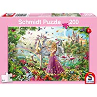 Schmidt Fairy in the Enchanted Forest Children's Jigsaw Puzzle (200-Piece)