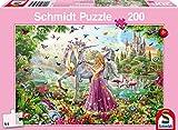 Schmidt Spiele 56197 Schöne Fee im Zauberwald Puzzles, 200 Teile