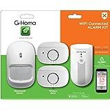 GAO EMW302WF-HS G-Homa Mini-Alarm Kit inkl. Empfangsgerät mit Alarmfunktion, Funkbewegungsmelder, 2 Funk Tür-/Fensteralarm