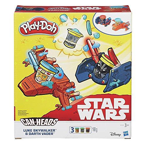 """Play-doh """"Star Wars Luke Skywalker Vs Darth Vader"""" Peut D'etats"""
