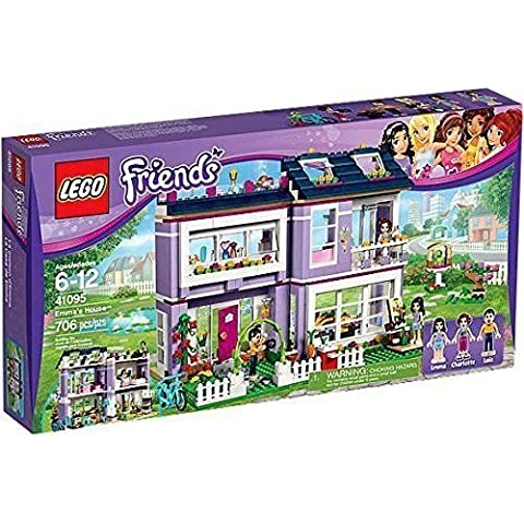 2016 Collection-BRAND NEW! LEGO Friends 41095 Emma's House with 3 Mini-Doll Figures by LEGO