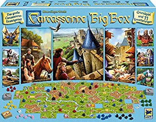 Hans im Glück Schmidt Spiele 48279 Carcassonne, Big Box 2017 (B074WDTV4B) | Amazon price tracker / tracking, Amazon price history charts, Amazon price watches, Amazon price drop alerts