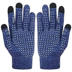 Vodabang Handschuhe Herren Winter Touchscreen Handschuhe für Herren und Damen,Softshell Uniesex Outdoor Handschuhe Sporthandschuhe Handschuhe Laufen Winterhandschuhe