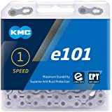 "KMC Unisex's E101 E Ketting, Zilver, 1/2"" x 1/8"""