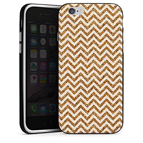 Apple iPhone 5 Housse Étui Silicone Coque Protection Zigzag Motif Motif Housse en silicone noir / blanc