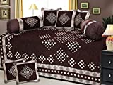 #9: Fresh From Loom Velvet Diwan Set