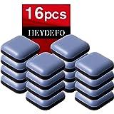 Meubelschuifregelaars voor tapijt- en hardhouten vloeren Zelfklevende meubelschuifregelaars square22mm