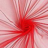 Fabulous Fabrics Soft Mesh – Rot — Meterware ab 0,5m