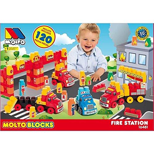 Molto Blocks - Set camiones, 125 piezas (MOLTO 16481)