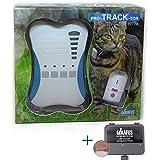 Girafus Mini Peilsender Katze Hund Tracker Ortung und Sucher Mini Tracker (8g mit Batterie) ideal für kleine Katzen Haustiere Hunde//Ortung in Räumen möglich Garagen, Keller, Gebüsch -KEIN ABO
