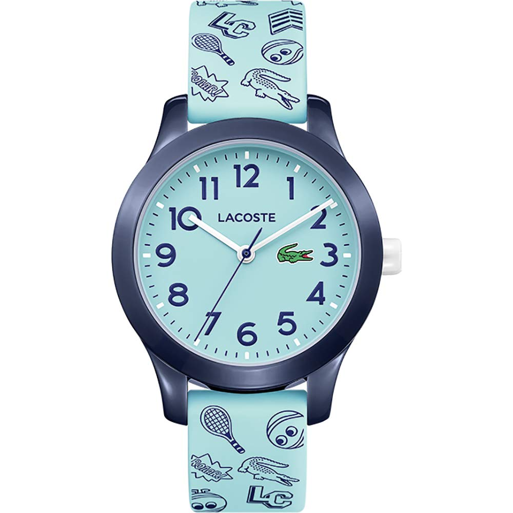 Lacoste Child Analogue Quartz Watch Kids with Plastic Strap