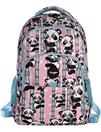 FRINGOO® Girls Boys Multi-compartment School Backpack Waterproof Fits Laptop 17''