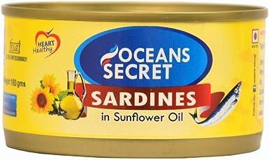 Oceans Secret Sardines in Oil, 180g