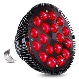 KINGBO 36W Alle Tief Rot 660nm LED Wachsen Glühbirne für Zimmerpflanzen Blühende Blüte und Früchte, wachsen Spektrum Verbesserung und Lichttherapie.