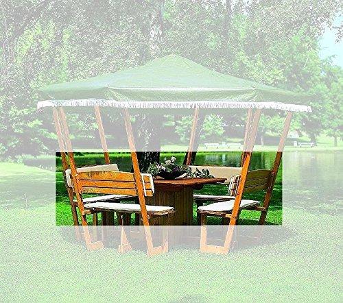 PROMADINO Sitz- und Rückenauflagen für Pavillon Rosenheim