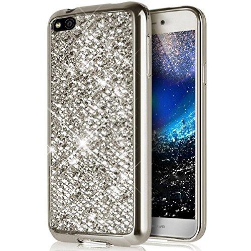 coque huawei p9 lite case silicon glitter cover