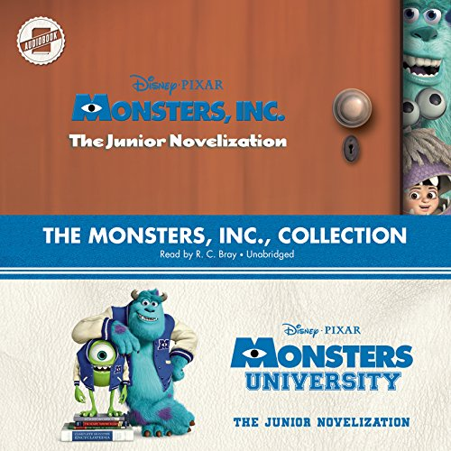 The Monsters, Inc., Collection: Monsters, Inc., and Monsters University; The Junior Novelizations