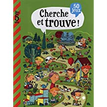 Mon grand livre de jeux: Cherche et trouve - Dès 5 ans