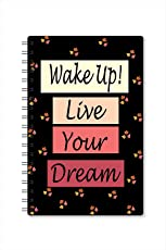 Paper Plane Design A5 Size Daily Planner (O)