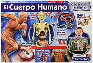cuerpo: Ciencia y Juego - El Cuerpo Humano  (Clementoni 550890)