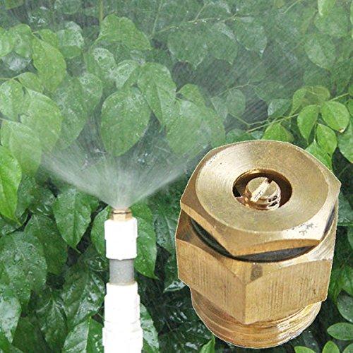 Bluelover 1/2 Zoll Messing Zentrifugale Einstellbare Wasser Vernebeln Sprühdüse