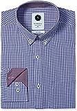 Symbol Men's Formal Checks Regular Fit Shirt (SYMCH7DES111_40_Lilac)
