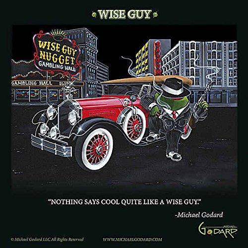 Wise Guy von Michael Godard Novelty CafePress