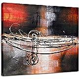 Raybre Art® 50 * 60 CM Modernos Cuadros Abstractos Line 100% Pintada a Mano sobre Lienzo Pinturas de óleo para Dibujos Pared Decoración Hogar Sala Cocina Dormitorio(Sin marco)