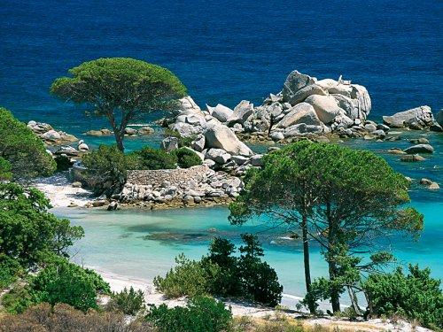 Preisvergleich Produktbild Nathan - 1000 Teile Puzzle - Strand von Palombaggia, Korsika