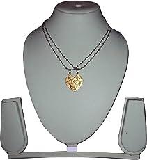 Gadget Deals Heart Pendant Silver Alloy Chain for Women & Men