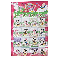 Aarvi Mickey Minnie Pencil Eraser Birthday Return Gift for Kids (Pack of 32 Pcs)