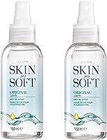 Avon Skin So Soft Original Dry Oil Body Spray with Jojoba 150 ml - Pack of 2