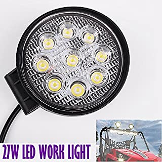 2PC 27W LED WORK LIGHT Working FLOOD BEAM OFFROAD LAMP LIGHT BOAT Tractor SUV TRUCK 12V 24V 4WD 4x4 A5 By Autofather