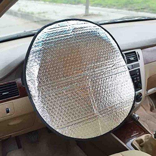 """Preisvergleich Produktbild Sonnenschutz Auto Lenkrad,  passend für die meisten Auto Modelle (Durchmesser 45cm / 17.71"""") - Zhiyi"""