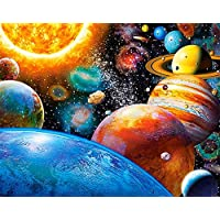 TianMaiGeLun Full Drill 5d Diamond Painting Kits Cross Stitch Craft Kit New DIY Kits for Kids Adults Paint by Number Kits (Starry Sky)