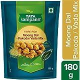 Tata sampann Fibre Rich Moong Dal Vada Mix, 180 g