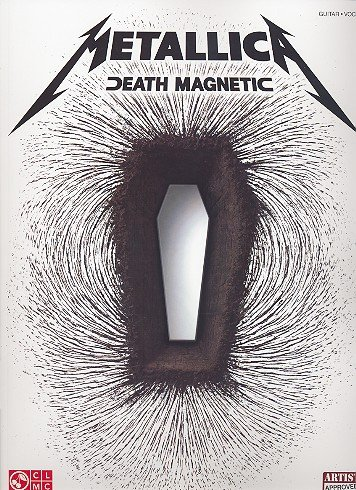 Metallica DEATH MAGNETIC Songbook guitar/tab/vocal mit Plektrum - Das Songbuch mit allen Songs des erfolgreichen Albums arrangiert für Gitarre und Gesang - Noten/sheet music -