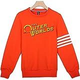 The Outer Worlds Logo Felpa con cappuccio per uomo